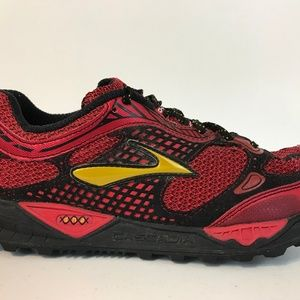 Brooks Mens Cascadia 6 Running Shoes Size 8 D